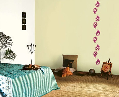 Asian paint wall design to improve your home decoration for Asian paints textured wall decoration
