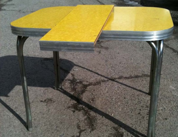 1950s-yellow-formica-table-