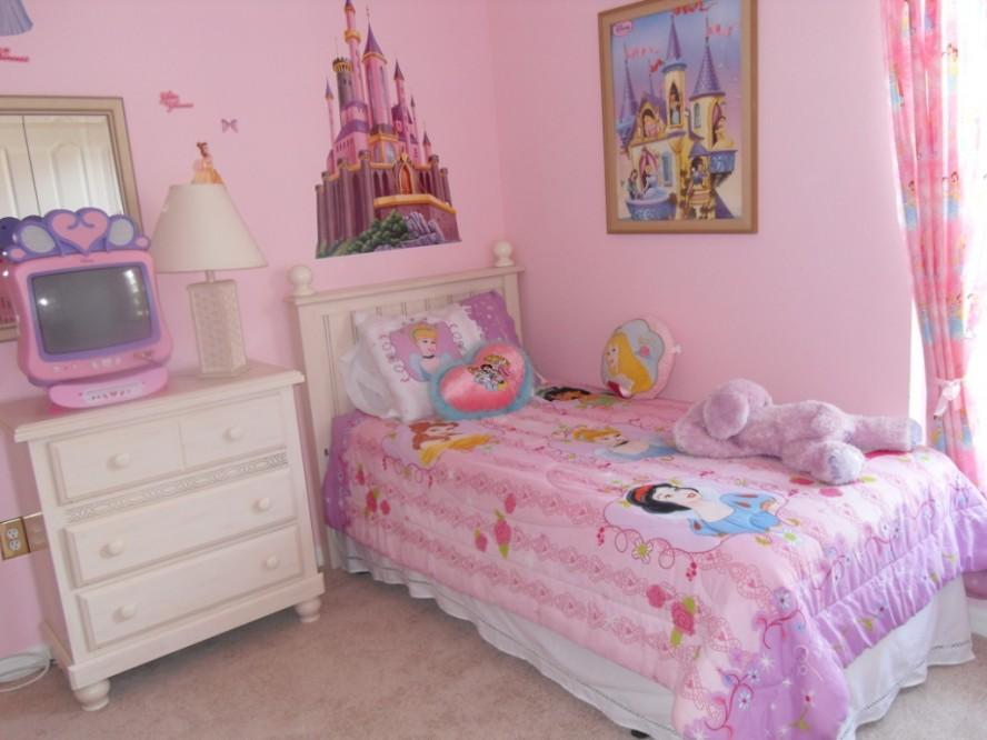 Amazing Little Girls Bedroom Ideas With Disney Theme