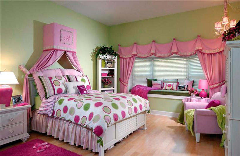 Little Girls Bedroom Style For Your