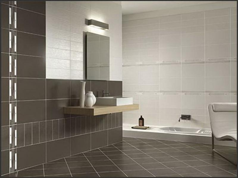Bathroom tiles design with attractive style seeur for Designs for bathroom tile