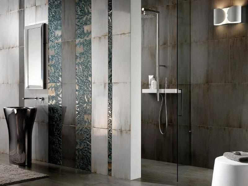 Bathroom tiles design with attractive style seeur for Contemporary bathroom tiles