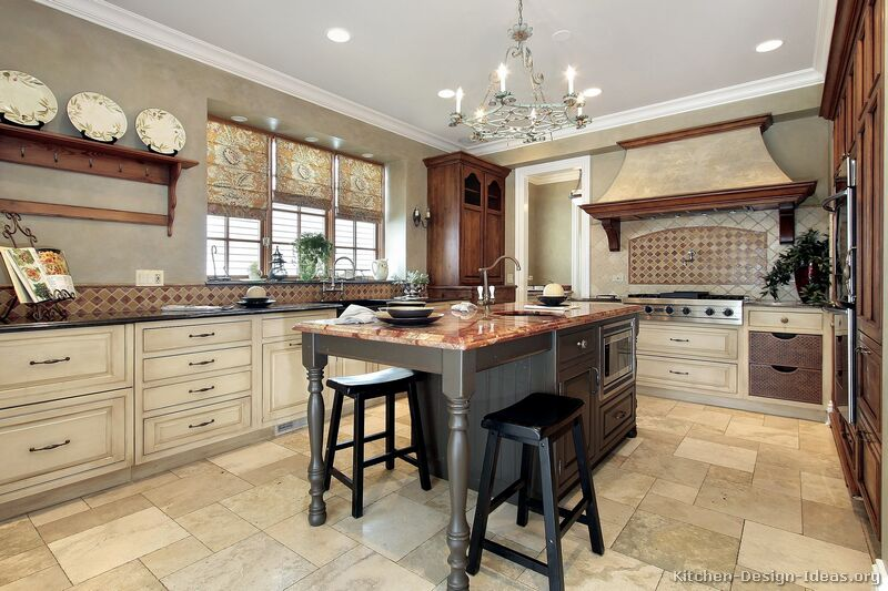 Country kitchen designs with interesting style seeur for Apple home decor