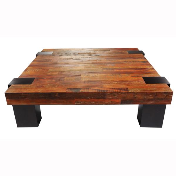 Elegant Peroba Wood Coffee Table Xo1bw