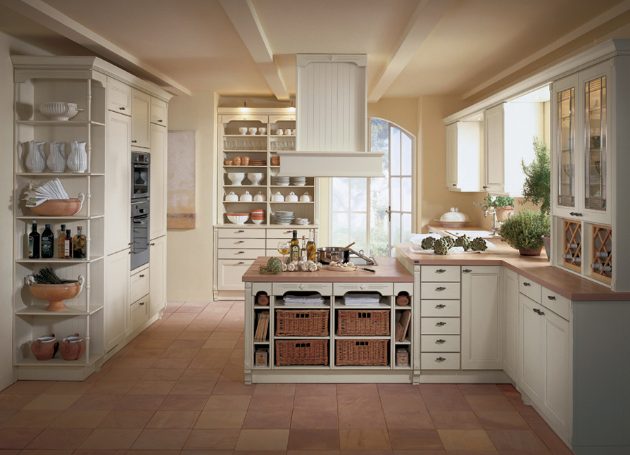 Country kitchen designs with interesting style seeur for Country kitchen designs