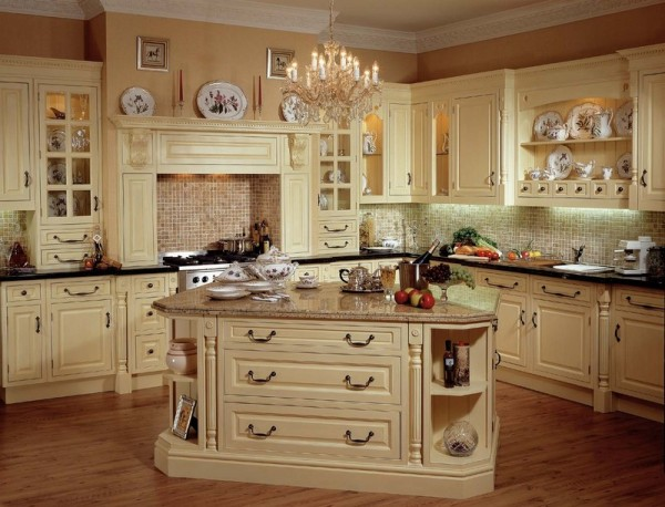 french country kitchen cabinets design photos gallery