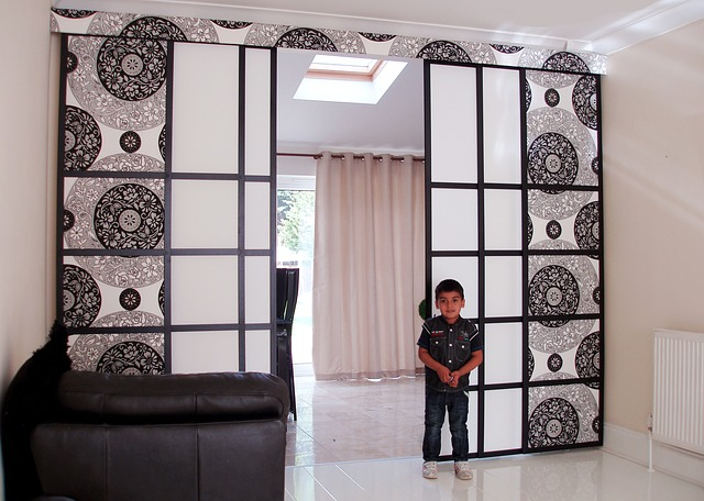 Room divider panels for the great arrangement of your for Room partition ikea