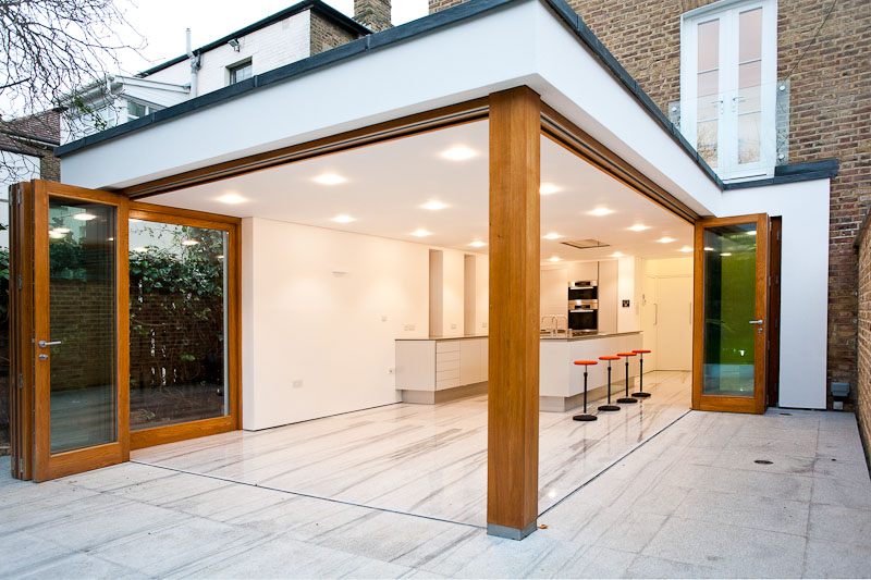 Bifold doors external with modern concept seeur for External sliding doors