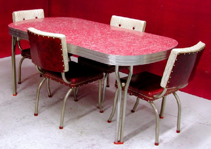 Retro Dining Table And Chairs Style Latest On