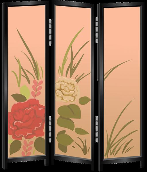 room divider screen picture frame