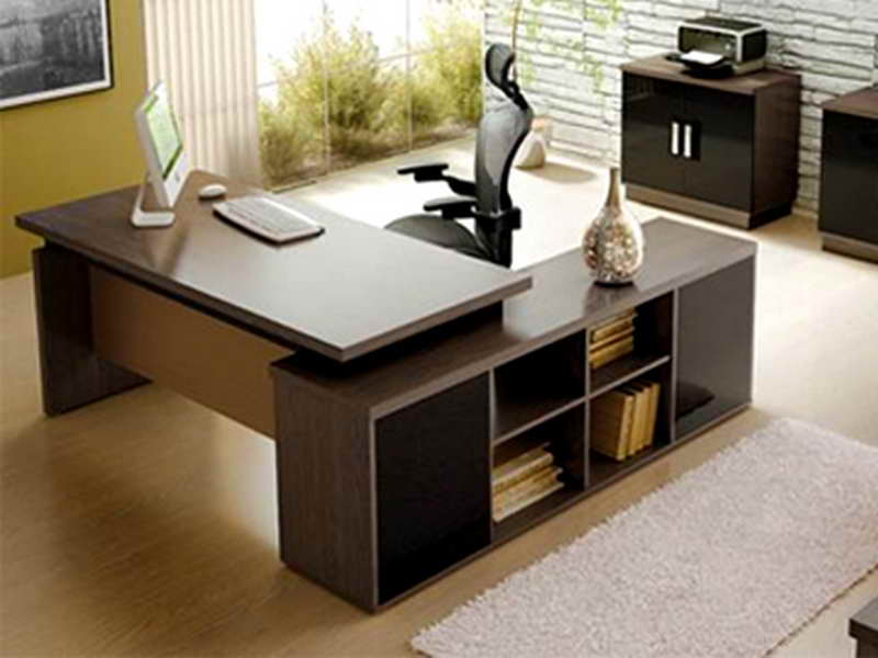 office table design for the fantastic office room seeur. Black Bedroom Furniture Sets. Home Design Ideas