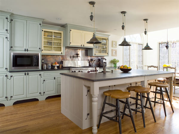 Country Kitchen Designs With Interesting Style