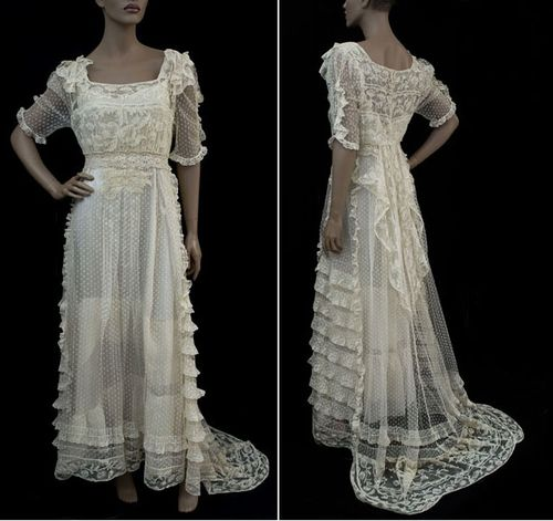 Vintage classic wedding bridal dresses for spirits seeur for Vintage wedding dress designers