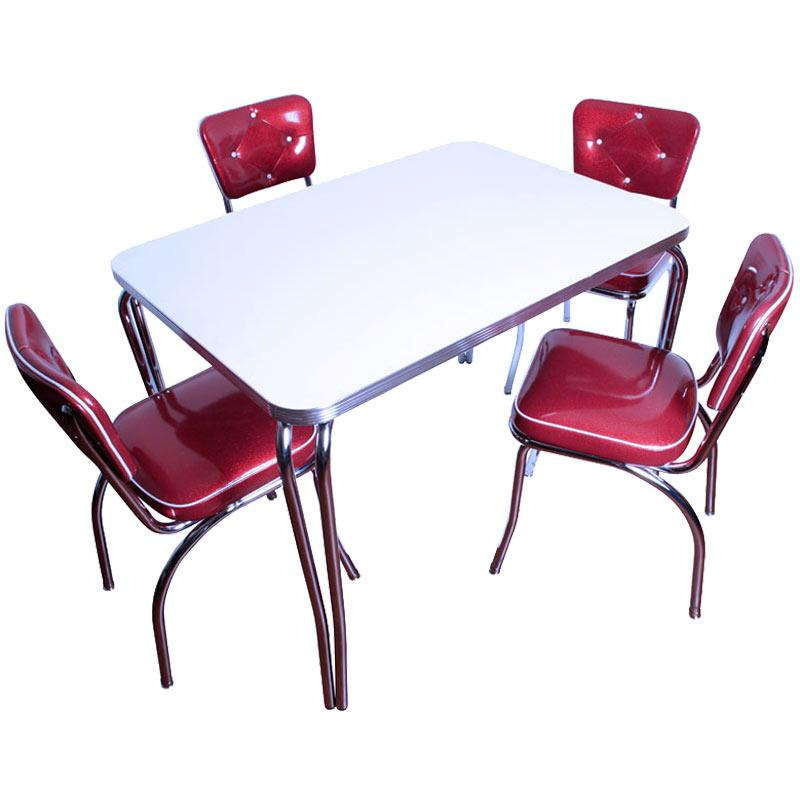 Retro table and chairs for your wonderful house seeur for Retro furniture