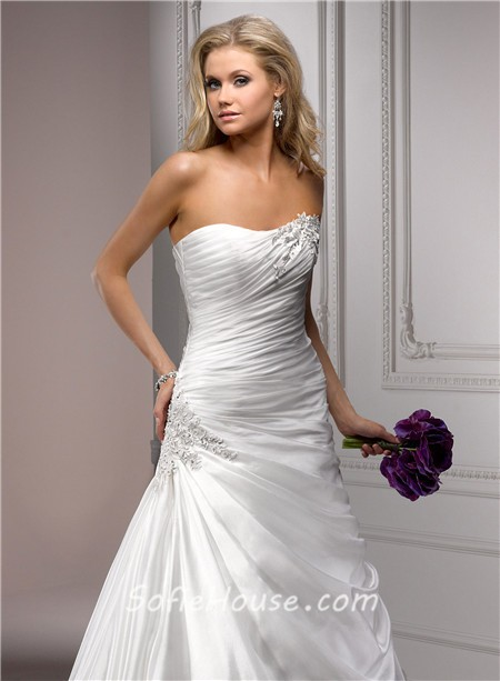 Strapless Bridal gown | Seeur