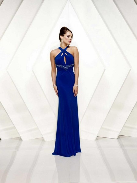 Floor-Length-Cheap-Prom-Dresses-Blue-Evening