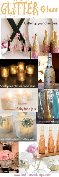 Glitter-glass-wedding-decorations-DIY-wedding-ideas