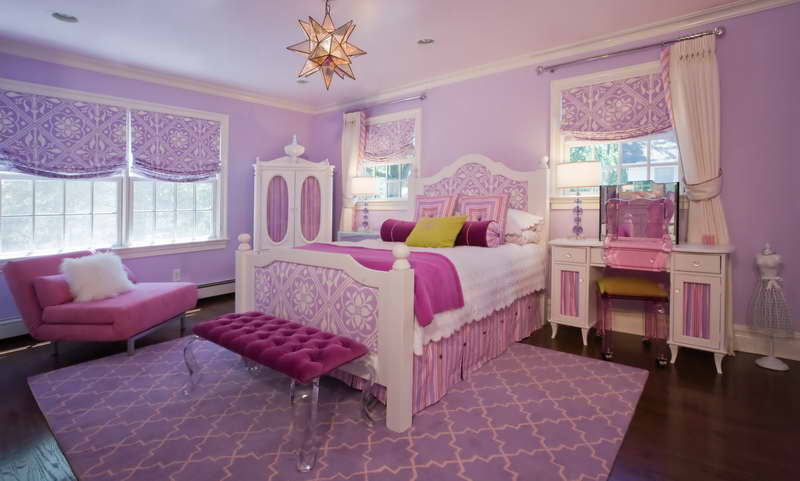 Little girls bedroom style for your cute girl seeur for Beautiful room design for girl