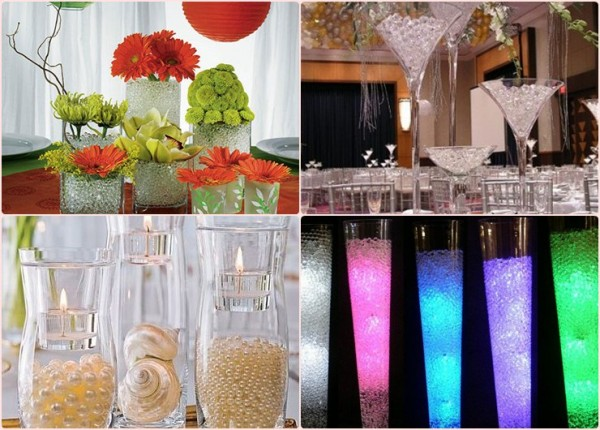 cheap-wedding-decor-ideas-water-pearls
