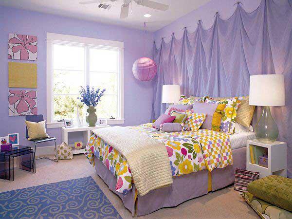 Cute Teenage Girl Bedroom Decorating Pictures