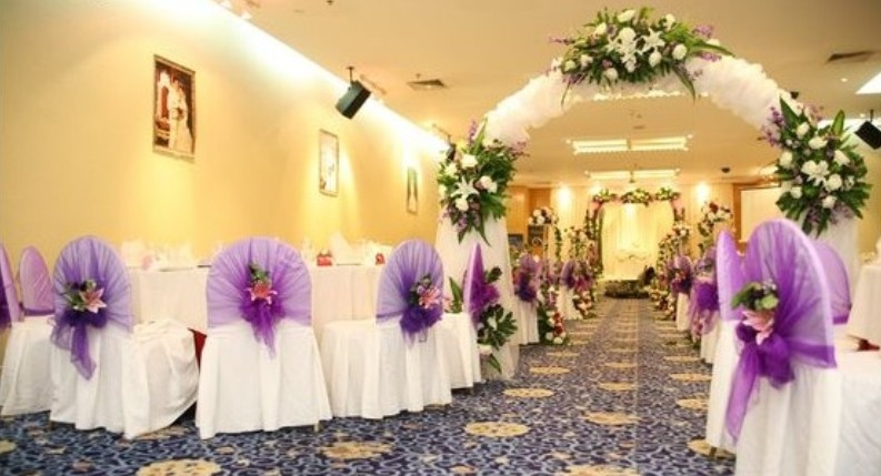 Wedding event decors do it yourself seeur for Sample wedding decorations