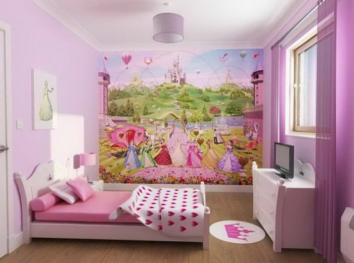 Attrayant Little Girl Bedroom Decorating Ideas Architecture Design With
