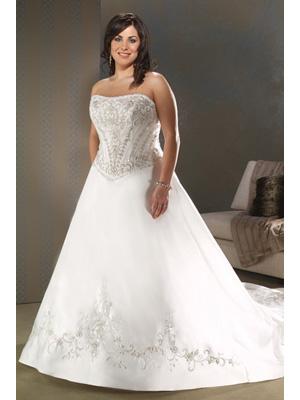 plus size vintage wedding dress patterns