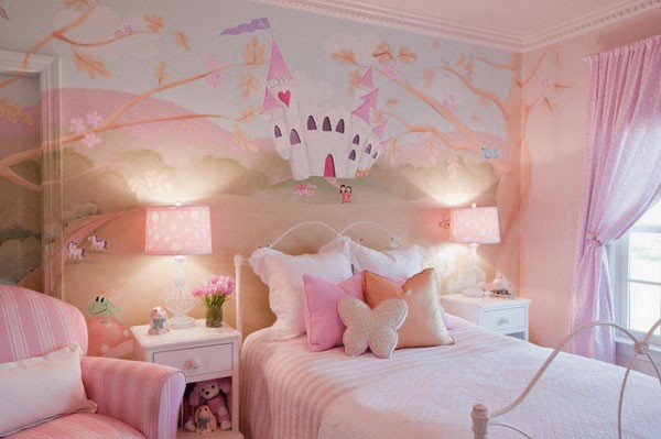 7 Inspiring Kid Room Color Options For Your Little Ones: Little Girls Bedroom Style For Your Cute Girl