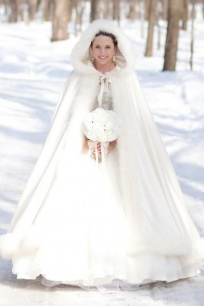 winter bridal bouquets pictures