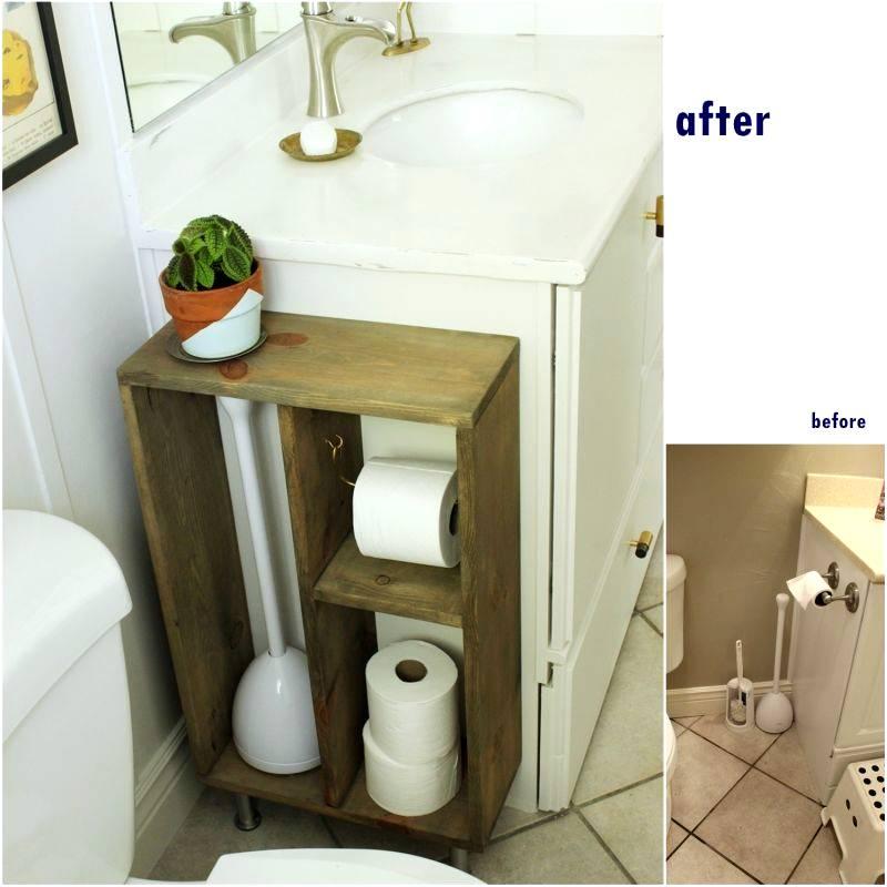 Diy bathroom makeovers tutorials for economical for Bathroom makeovers 2016
