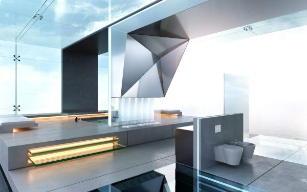 Delux Home Creation Studio for Be Yourself Bathroom Visualization