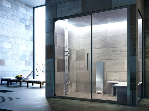 Glass Noor Steam Shower enclosure steam cabin
