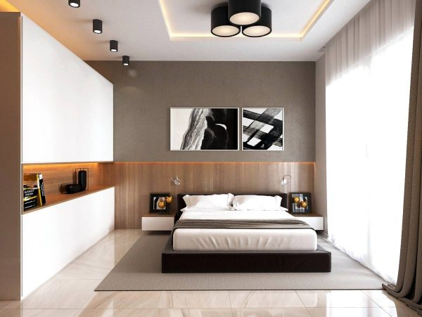 Large Bedroom with Builtins