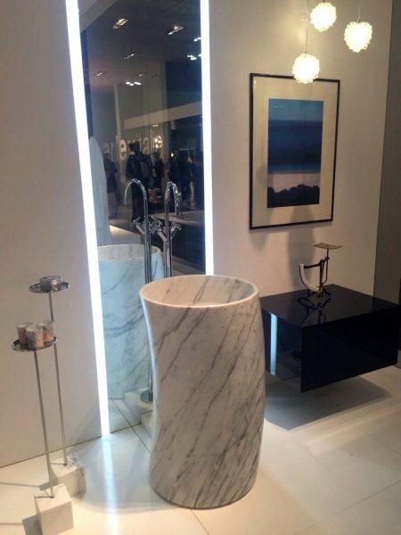 Marble sink modern
