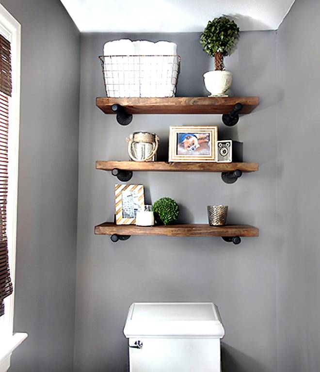 Boosting Your Bathroom Storage Capacity With Diy Shelving