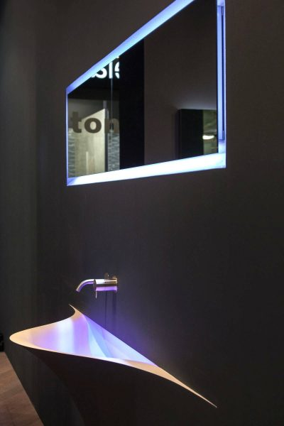 Silenzio Wash Basin by Antonio Lupi