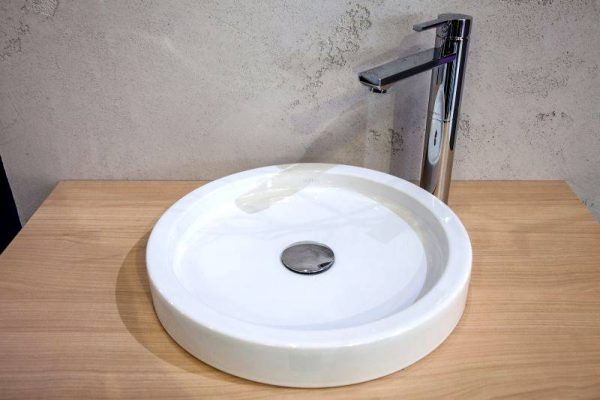 Stirone round flat wash basin design