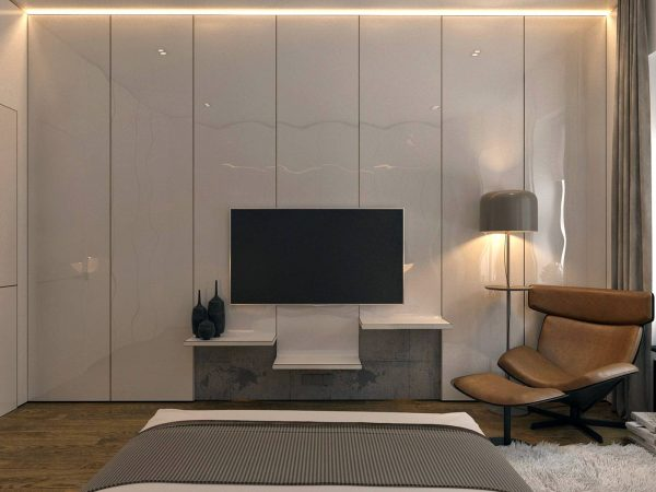 Unique folded wall paneling