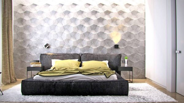 bedroom wall texture ideas