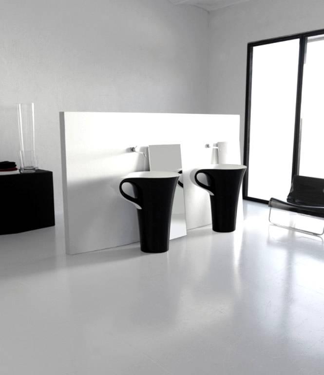 Unusual Sinks Belong To Unique Modern Bathrooms Seeur