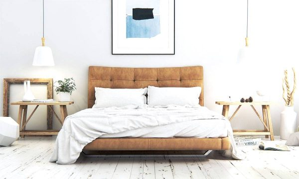 classic modern scandinavian bedroom theme