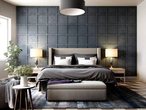 dark bedroom design ideas