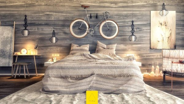 hipster bedroom design inspiration