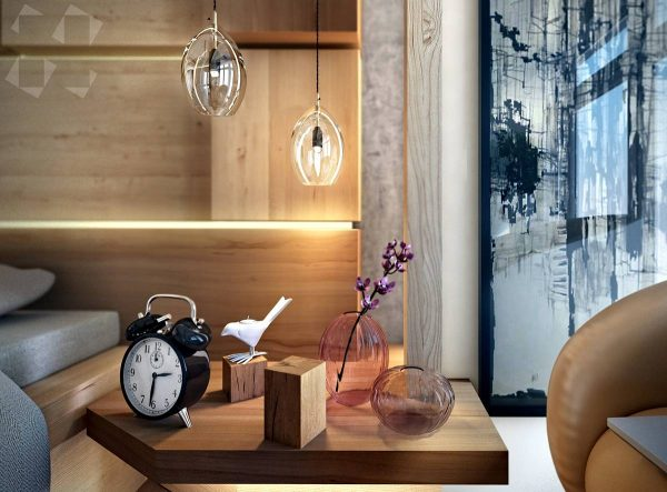 modern chic bedroom decor