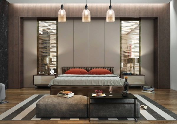 modern classic bedroom decor
