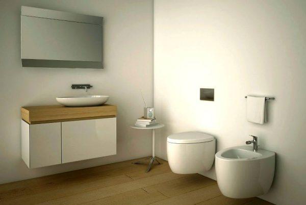 White sanitaryware