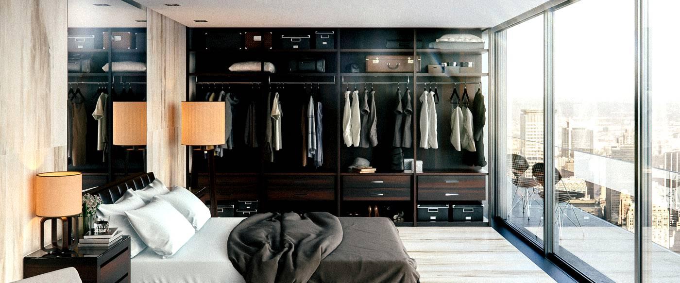 marvelous bedroom closet interior design | Marvelous Master Bedrooms with Unique Wardrobes Ideas | Seeur