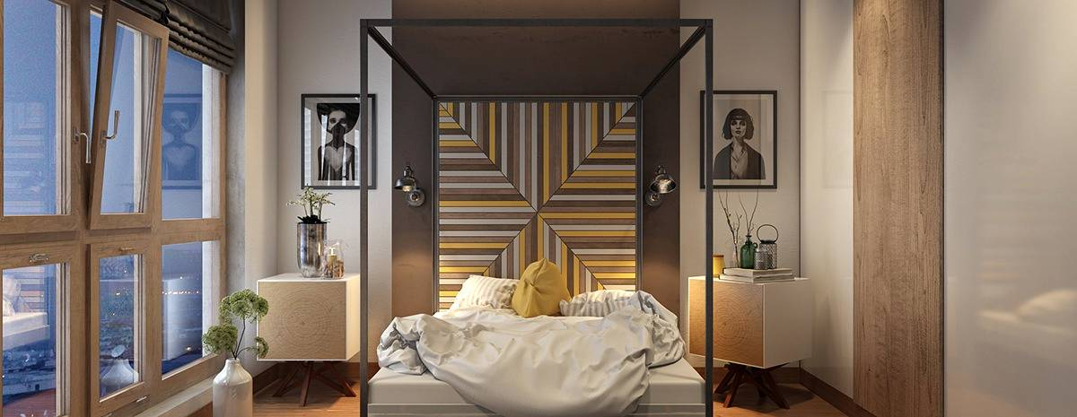 Bedroom accent wall ideas to fill the entire room in style for Large headboard ideas