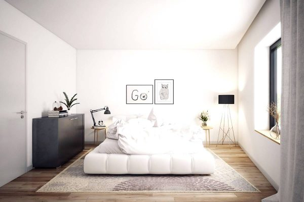 simple scandinavian bedroom ideas