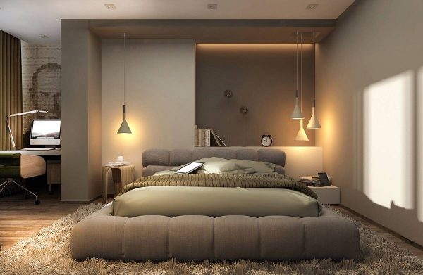 soothing bedroom lighting theme